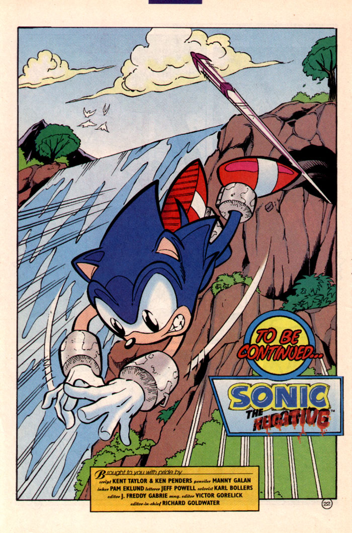 Sonic - Archie Adventure Series July 1997 Page 25