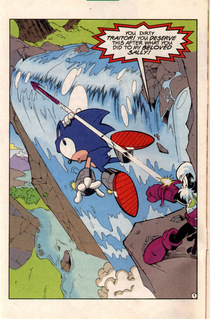 Sonic - Archie Adventure Series August 1997 Page 2
