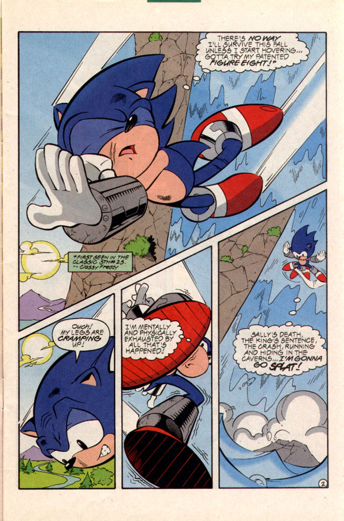 Sonic - Archie Adventure Series August 1997 Page 3