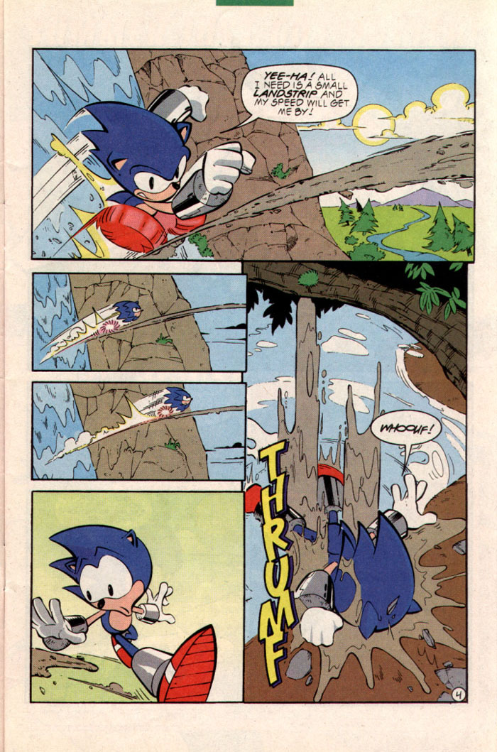 Sonic - Archie Adventure Series August 1997 Page 5