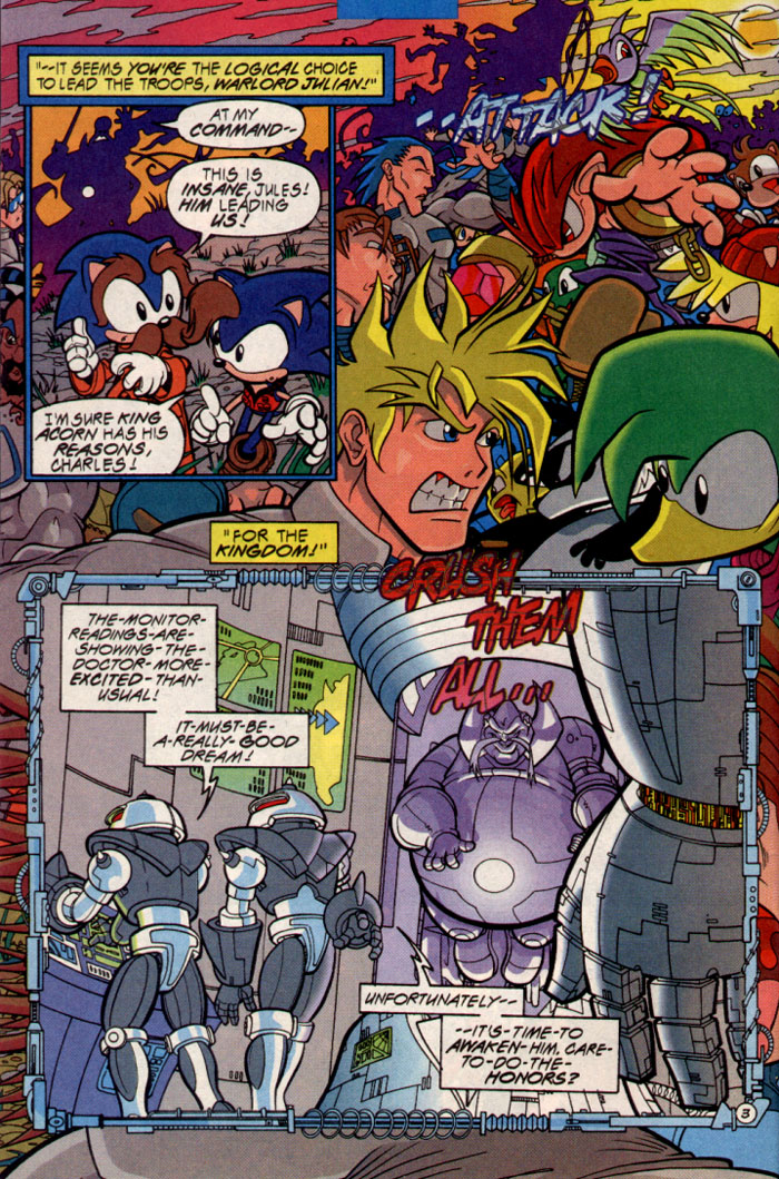 Sonic - Archie Adventure Series September 1997 Page 4