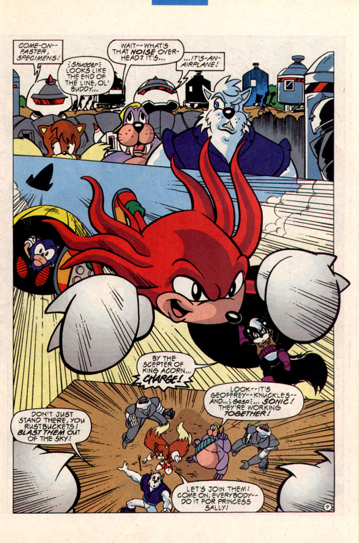 Sonic - Archie Adventure Series September 1997 Page 10