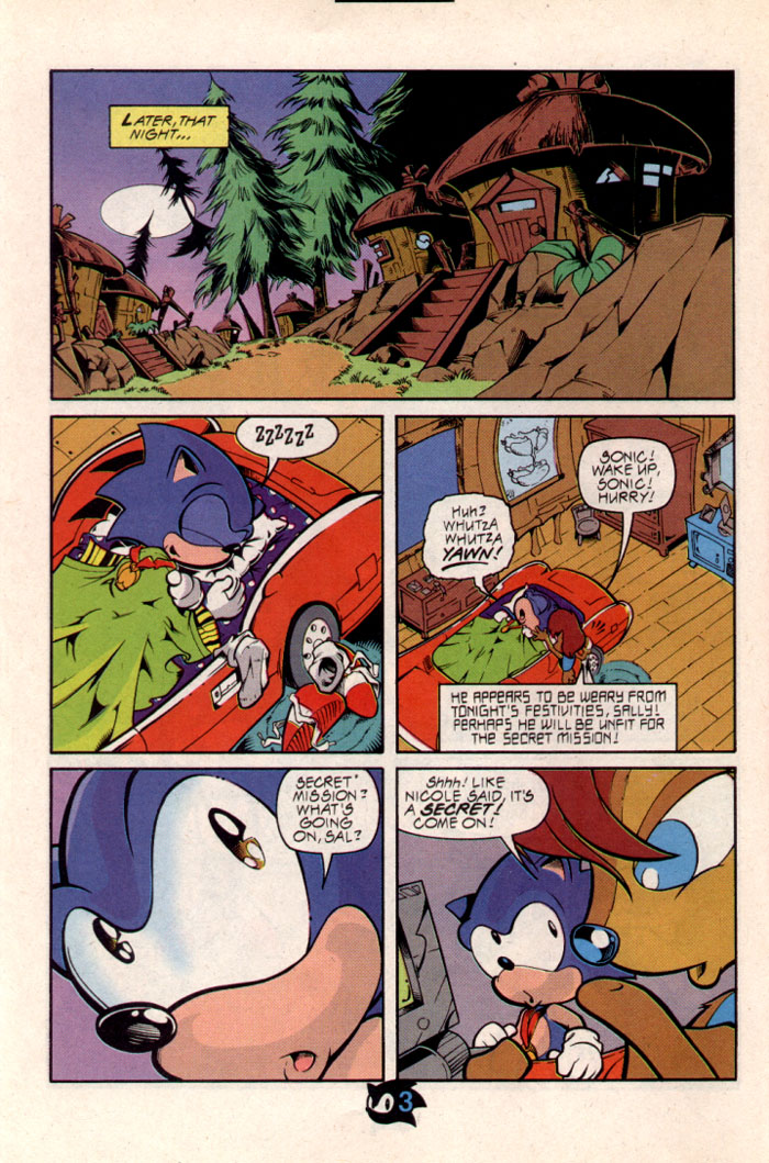 Sonic - Archie Adventure Series October 1997 Page 4