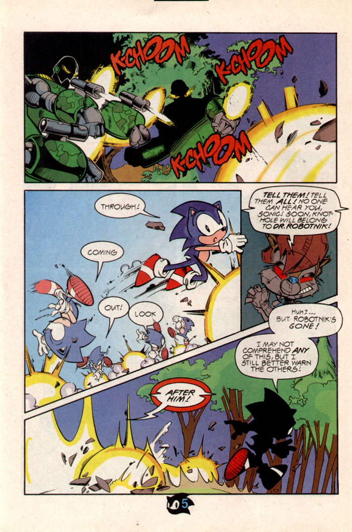 Sonic - Archie Adventure Series October 1997 Page 6