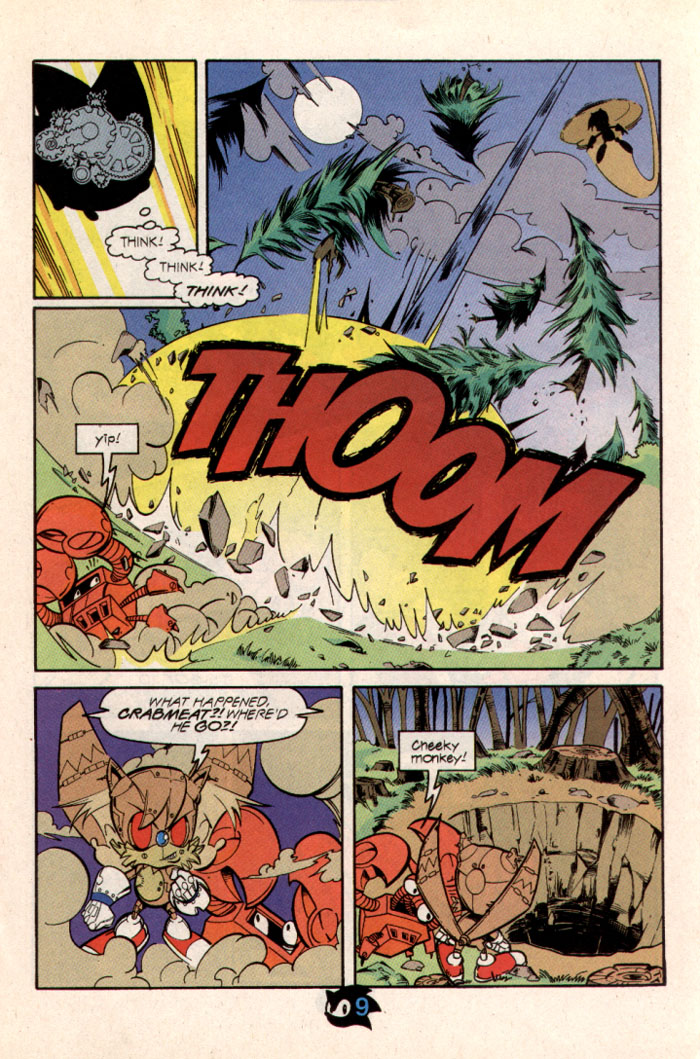Sonic - Archie Adventure Series October 1997 Page 10