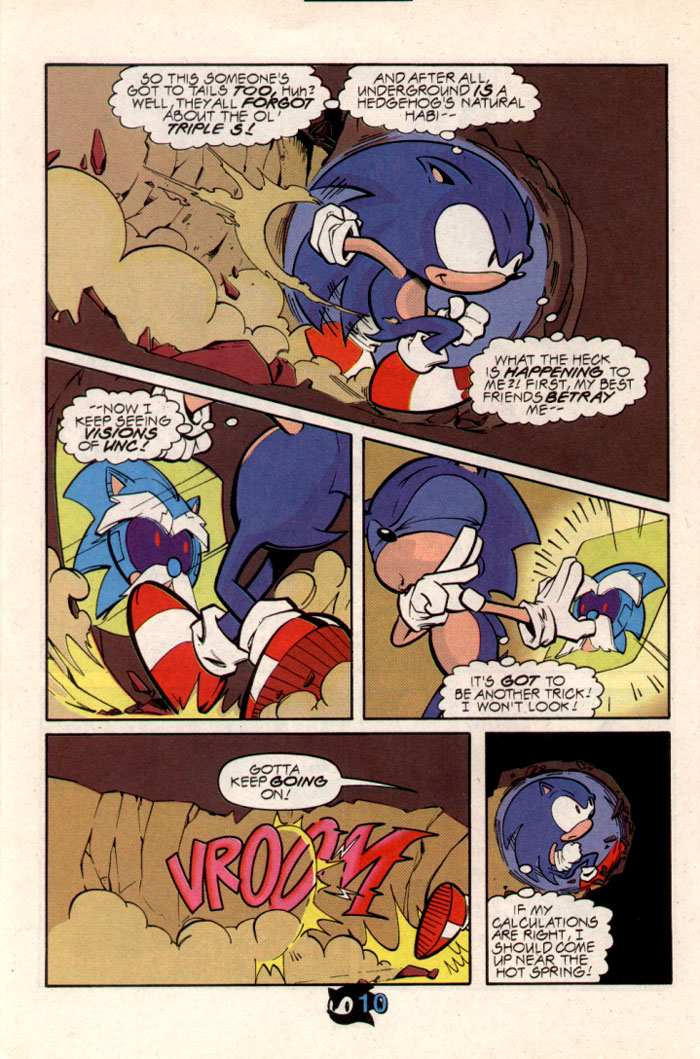 Sonic - Archie Adventure Series October 1997 Page 11