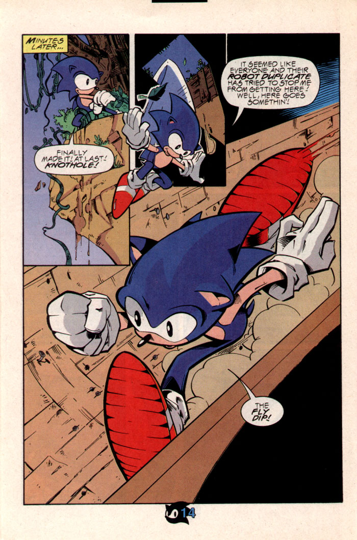 Sonic - Archie Adventure Series October 1997 Page 15