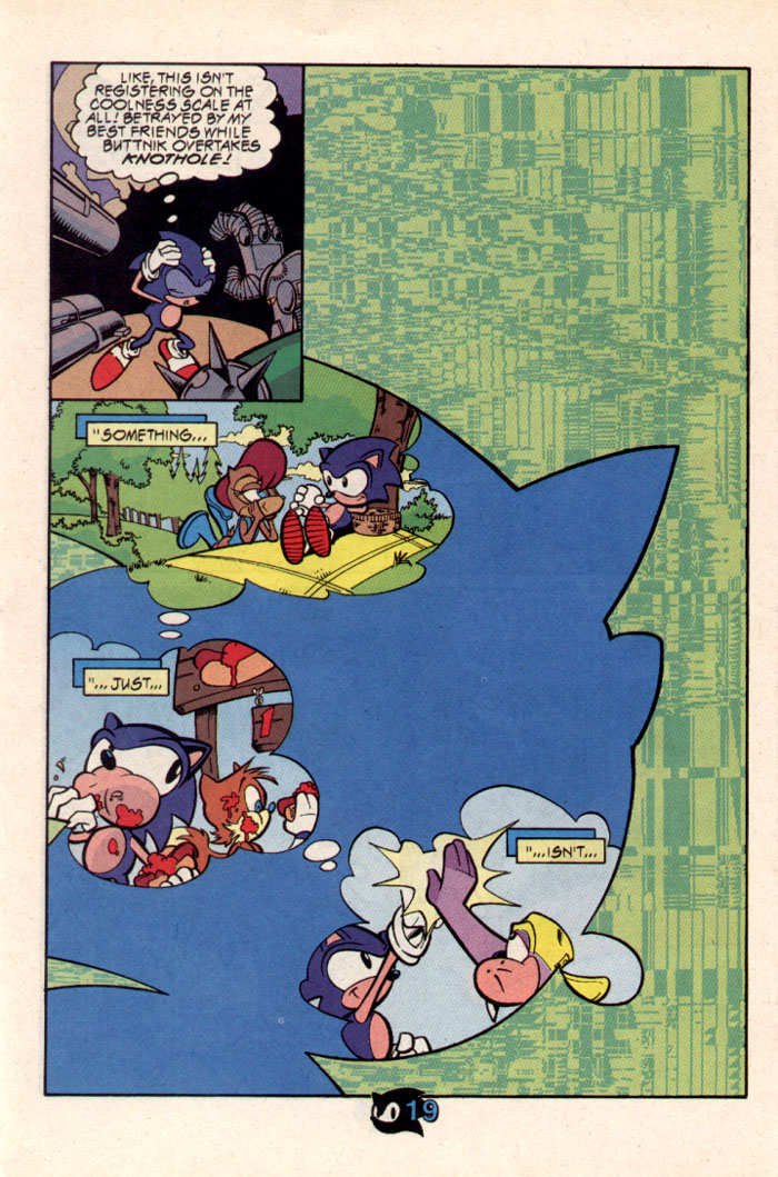 Sonic - Archie Adventure Series October 1997 Page 22
