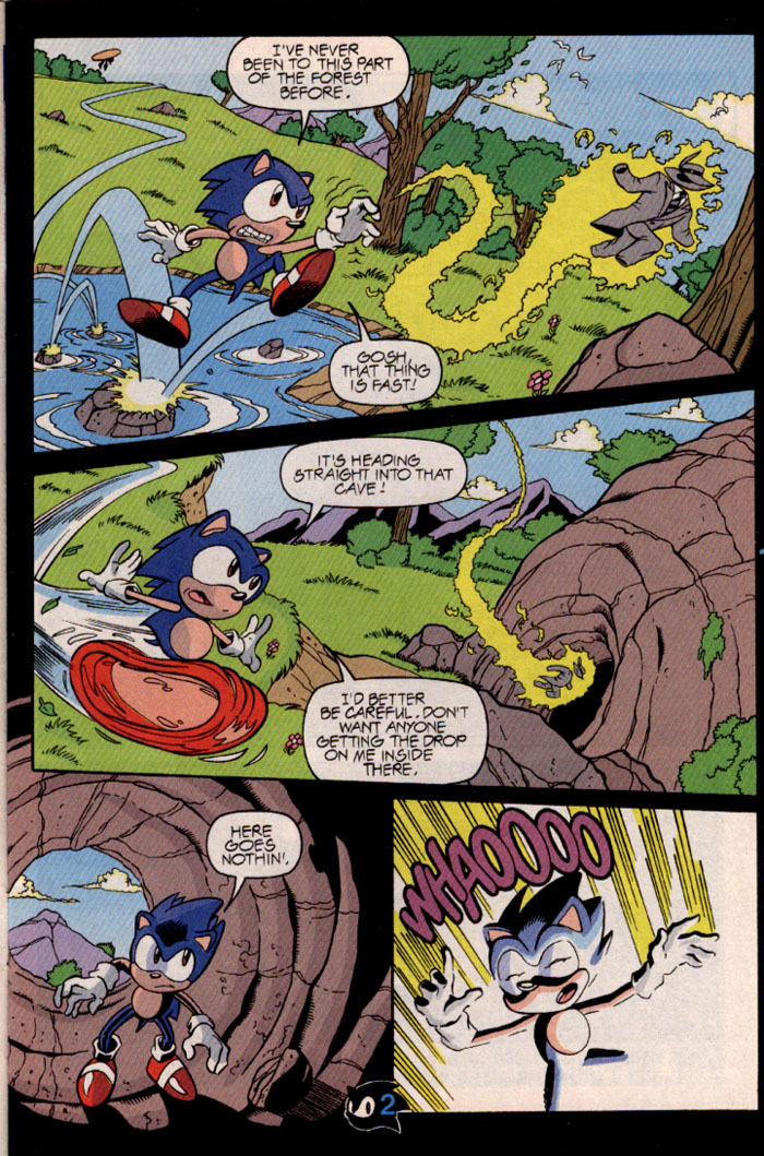 Sonic - Archie Adventure Series November 1997 Page 3