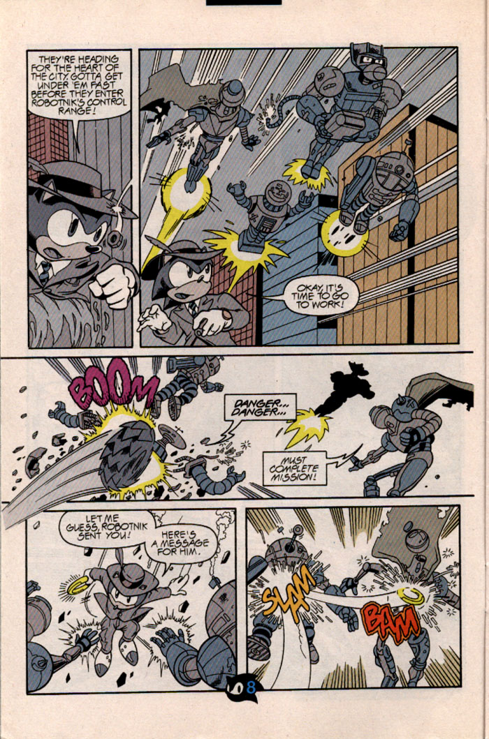 Sonic - Archie Adventure Series November 1997 Page 9
