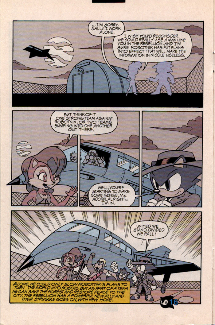 Sonic - Archie Adventure Series November 1997 Page 17
