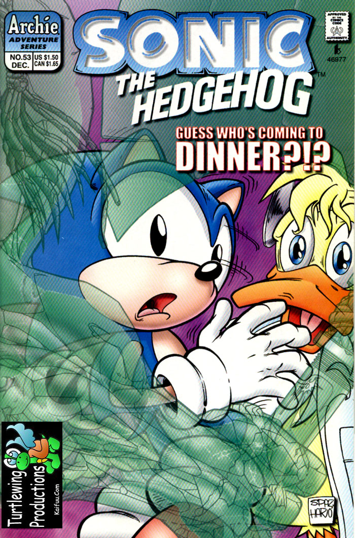 Sonic - Archie Adventure Series December 1997 Comic cover page