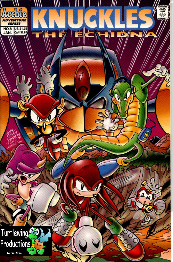 Knuckles - January 1998 Cover Page