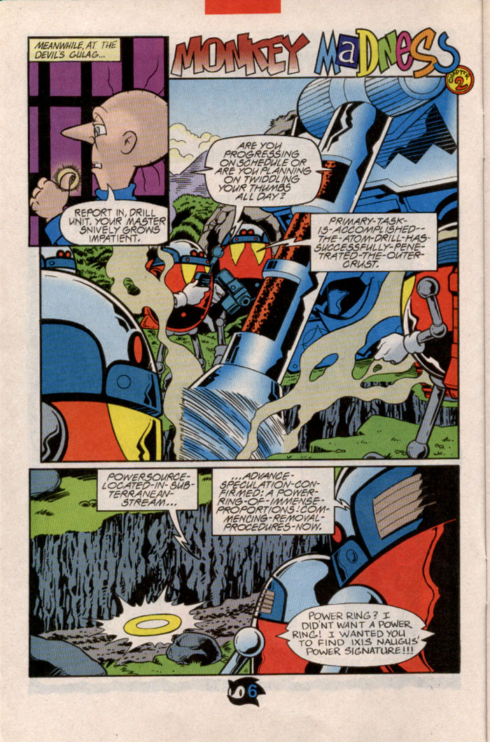 Sonic - Archie Adventure Series February 1998 Page 7
