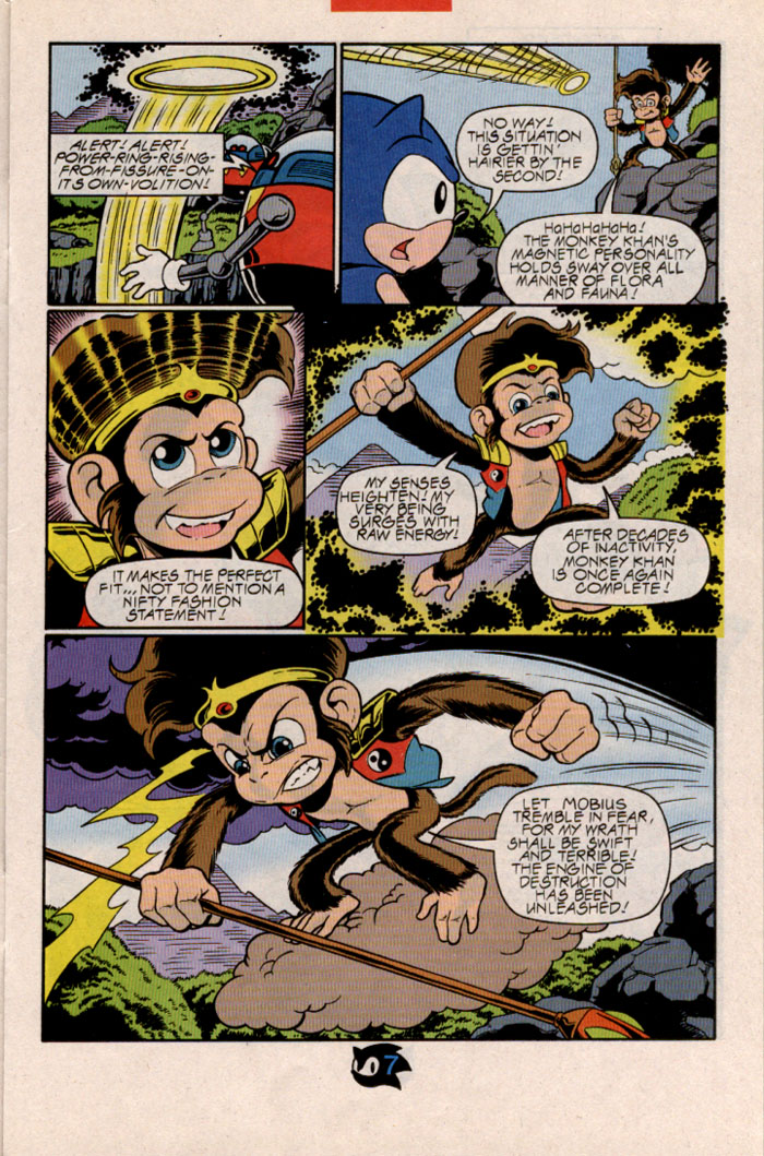 Sonic - Archie Adventure Series February 1998 Page 8