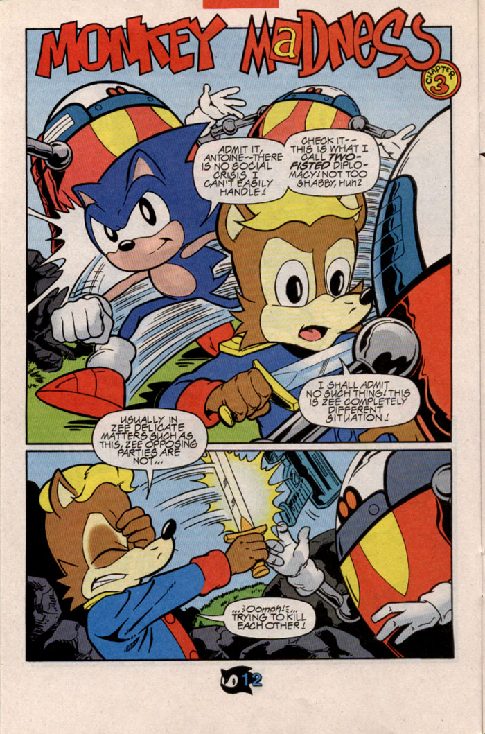 Sonic - Archie Adventure Series February 1998 Page 13