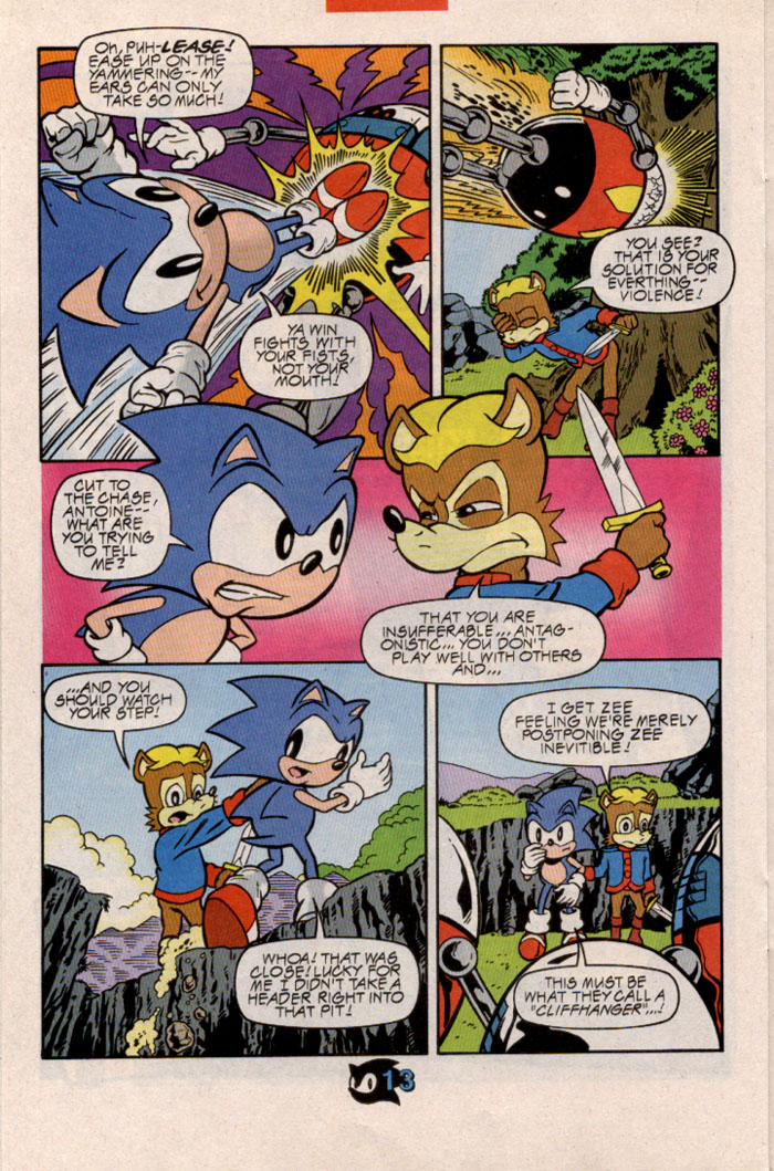 Sonic - Archie Adventure Series February 1998 Page 16