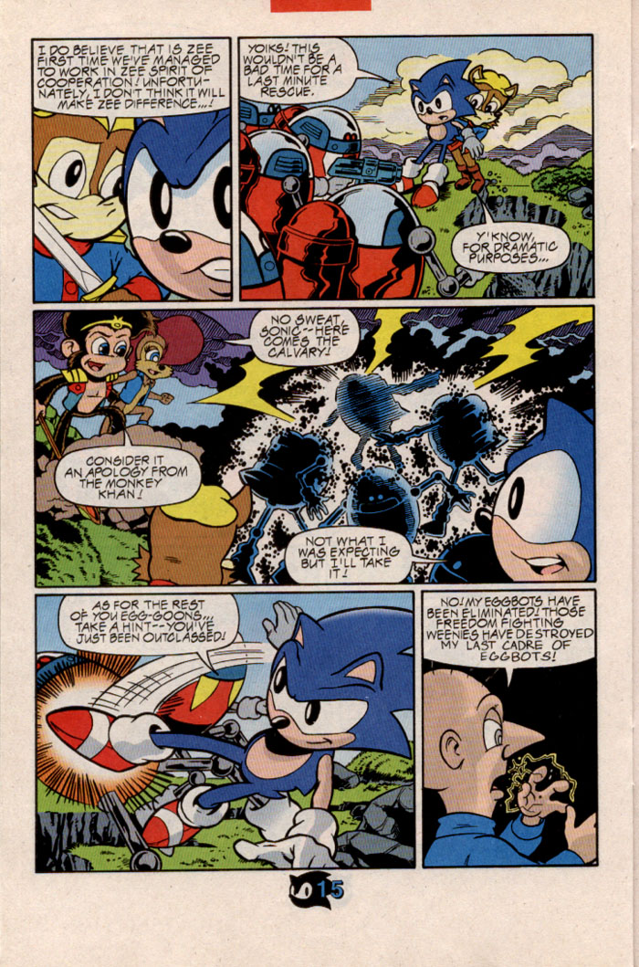 Sonic - Archie Adventure Series February 1998 Page 18