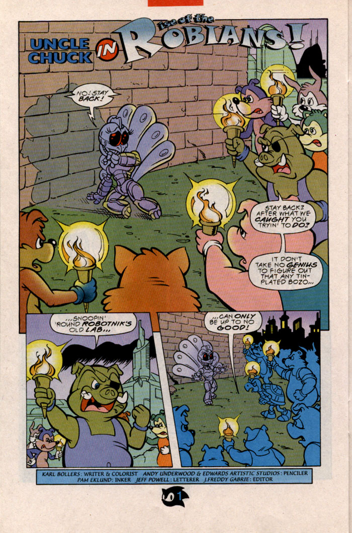 Sonic - Archie Adventure Series February 1998 Page 20