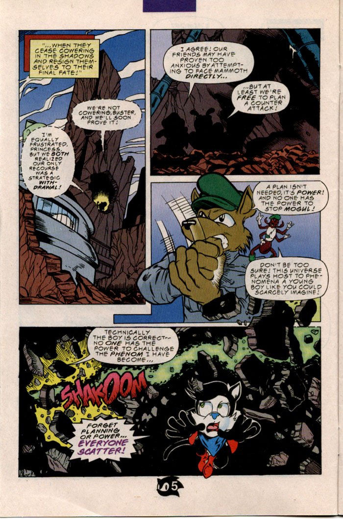 Sonic - Archie Adventure Series March 1998 Page 6