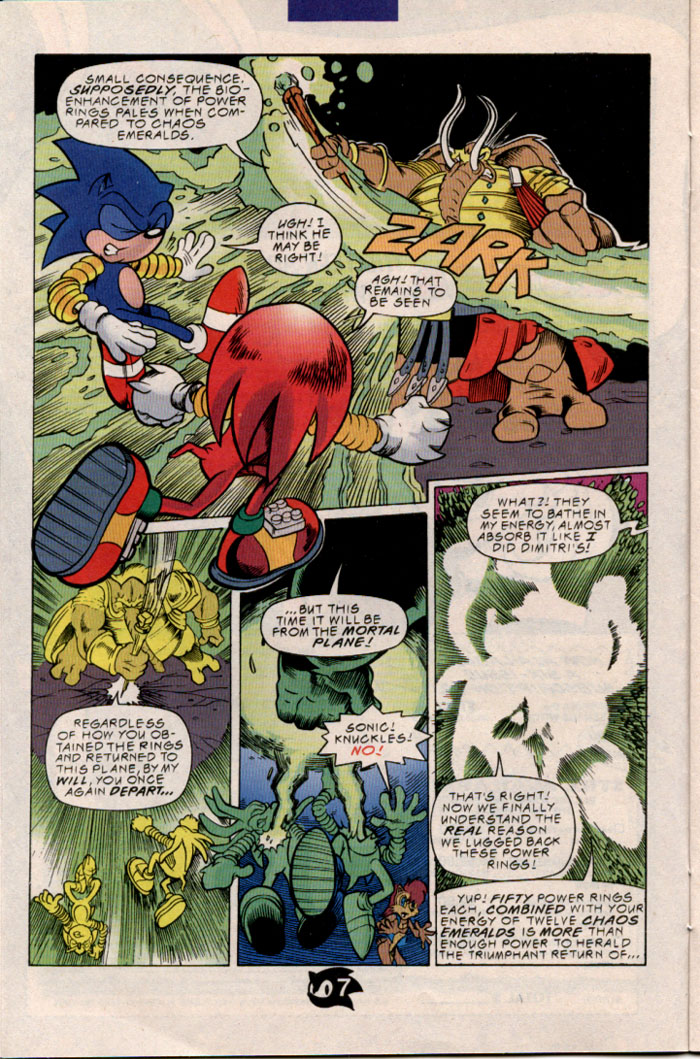 Sonic - Archie Adventure Series March 1998 Page 8