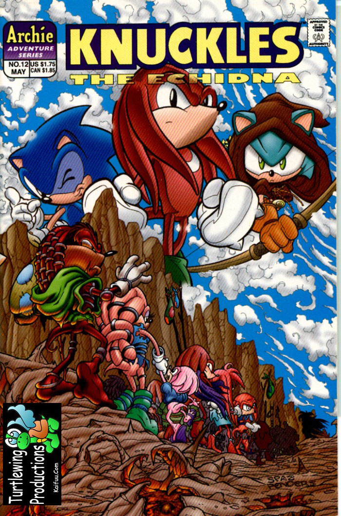 Knuckles - May 1998 Comic cover page