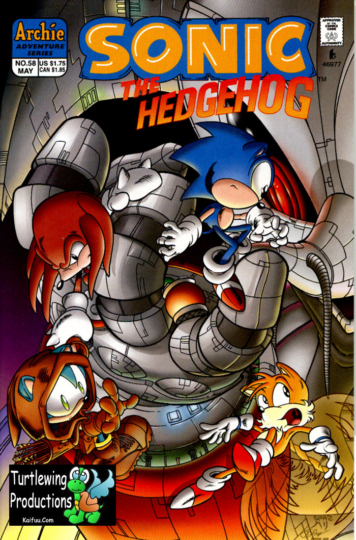 Sonic - Archie Adventure Series May 1998 Cover Page