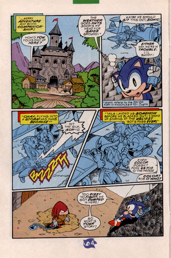Sonic - Archie Adventure Series May 1998 Page 4
