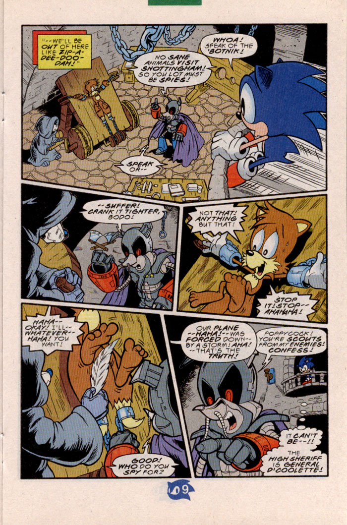 Sonic - Archie Adventure Series May 1998 Page 10