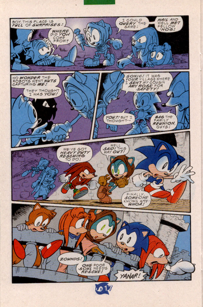 Sonic - Archie Adventure Series May 1998 Page 19