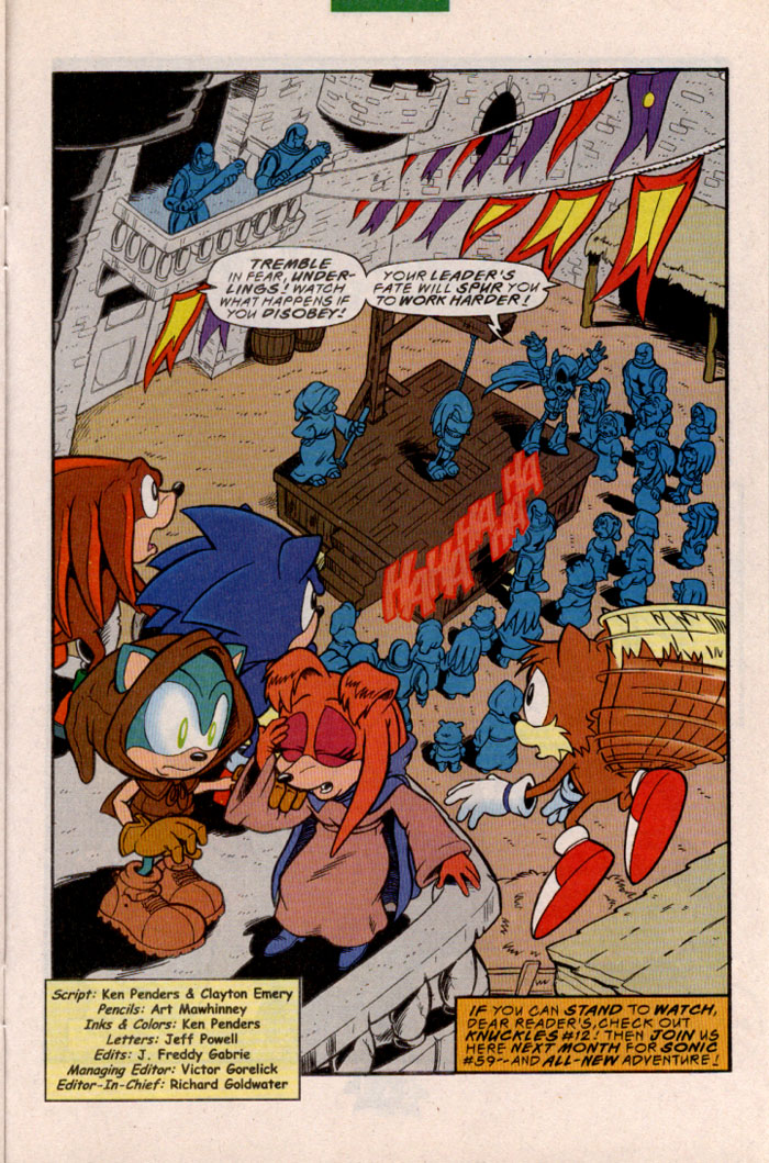 Sonic - Archie Adventure Series May 1998 Page 20
