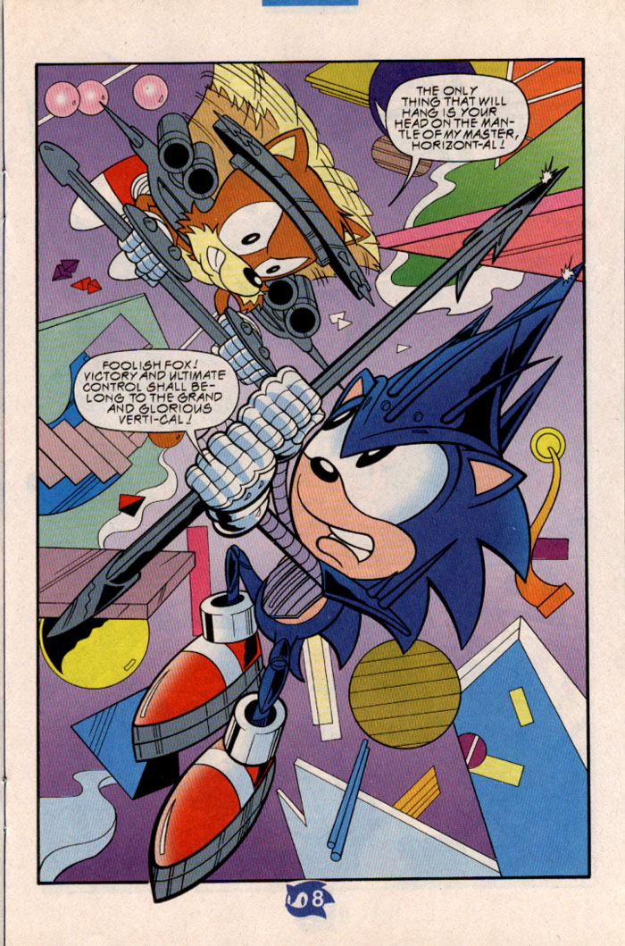 Sonic - Archie Adventure Series June 1998 Page 9