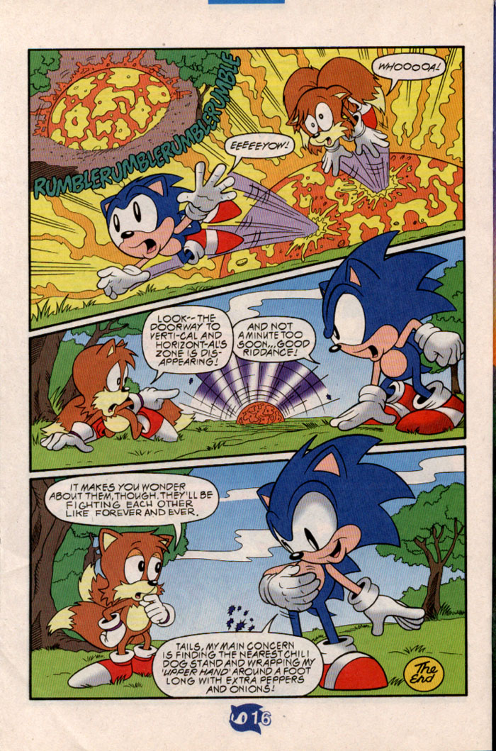 Sonic - Archie Adventure Series June 1998 Page 18