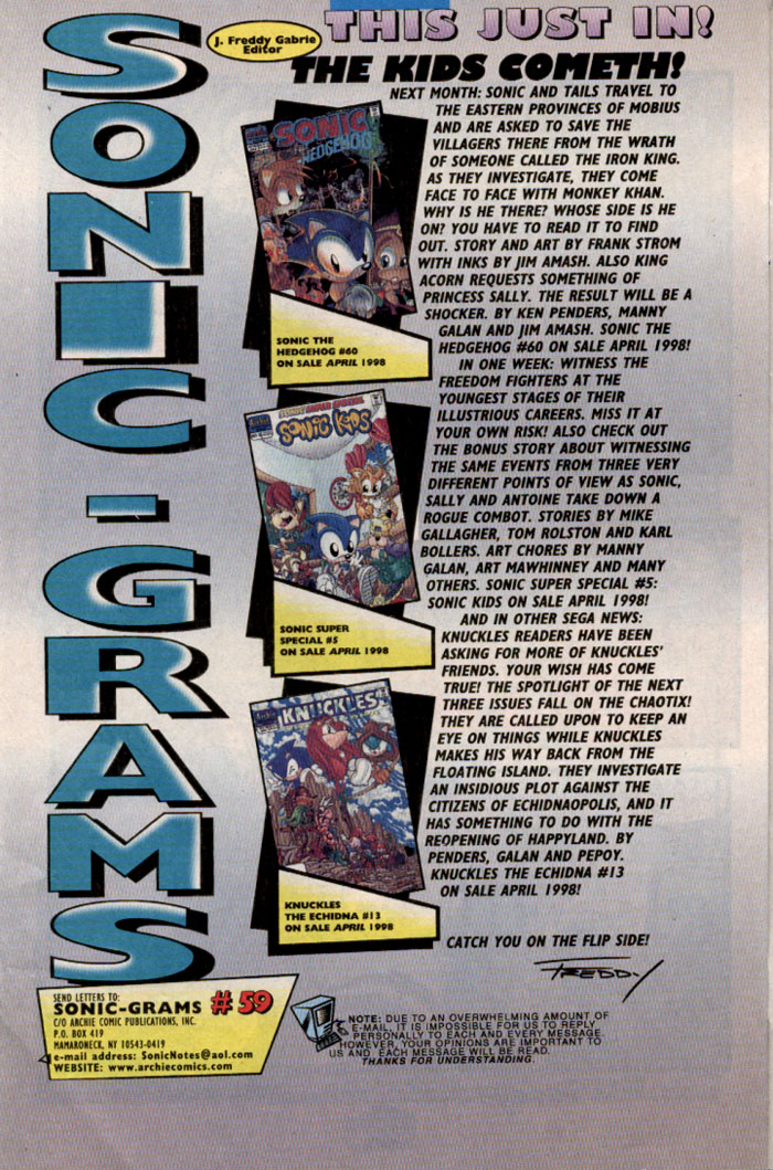 Sonic - Archie Adventure Series June 1998 Page 25