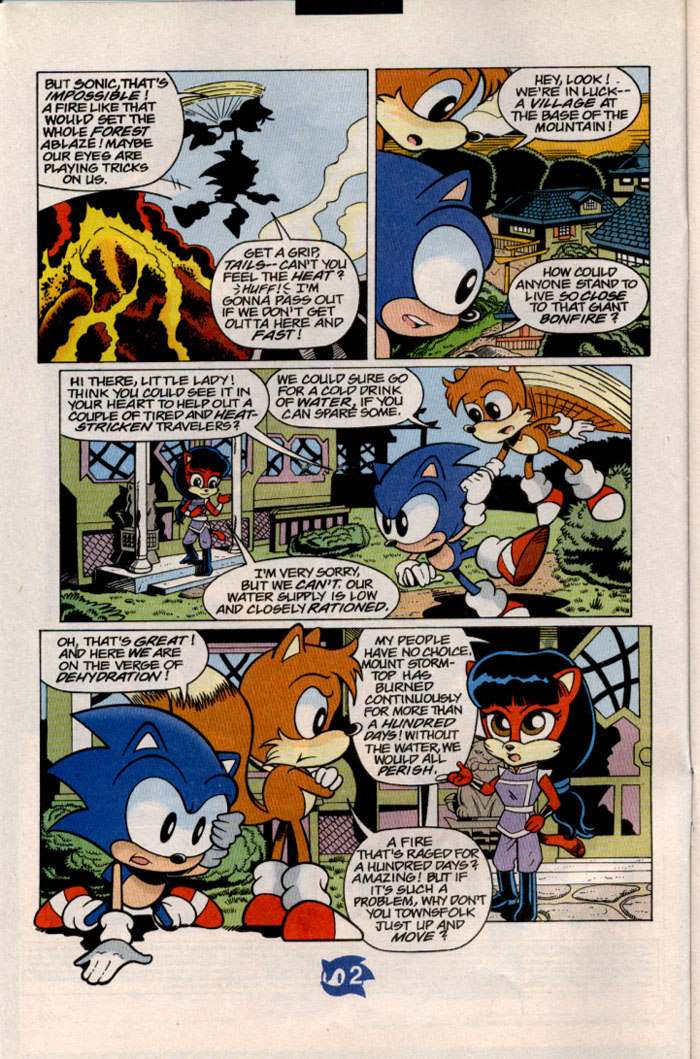 Sonic - Archie Adventure Series July 1998 Page 2