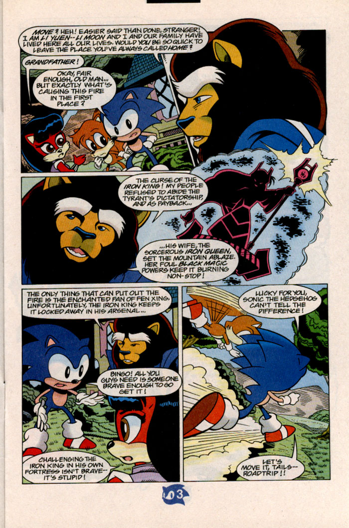 Sonic - Archie Adventure Series July 1998 Page 3