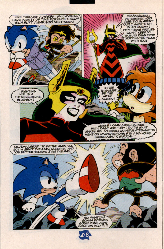 Sonic - Archie Adventure Series July 1998 Page 9