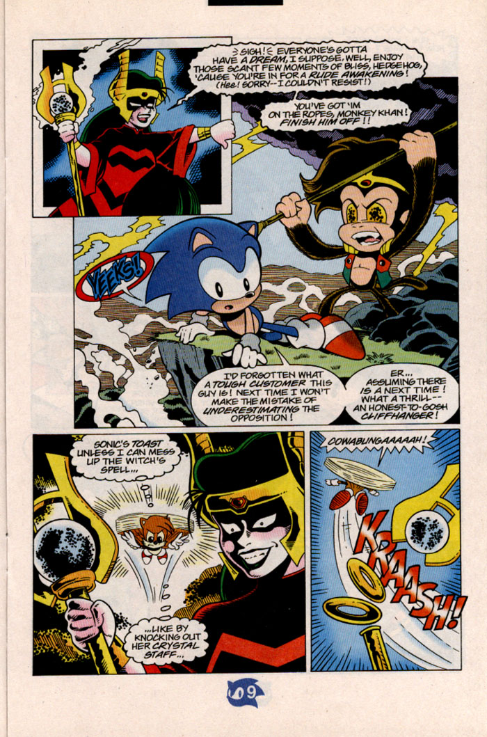 Sonic - Archie Adventure Series July 1998 Page 10