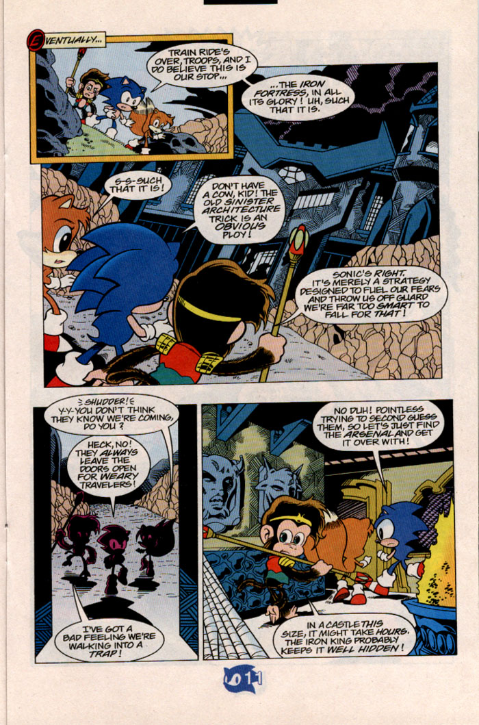 Sonic - Archie Adventure Series July 1998 Page 12