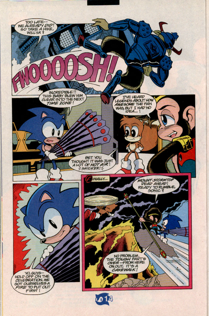 Sonic - Archie Adventure Series July 1998 Page 15