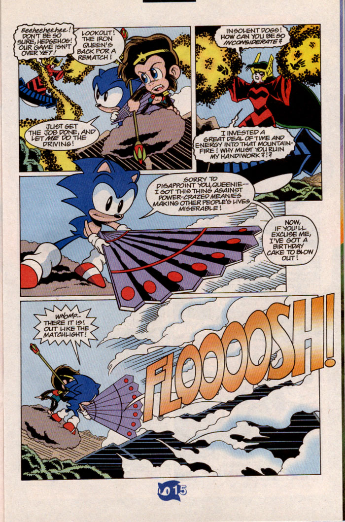 Sonic - Archie Adventure Series July 1998 Page 16