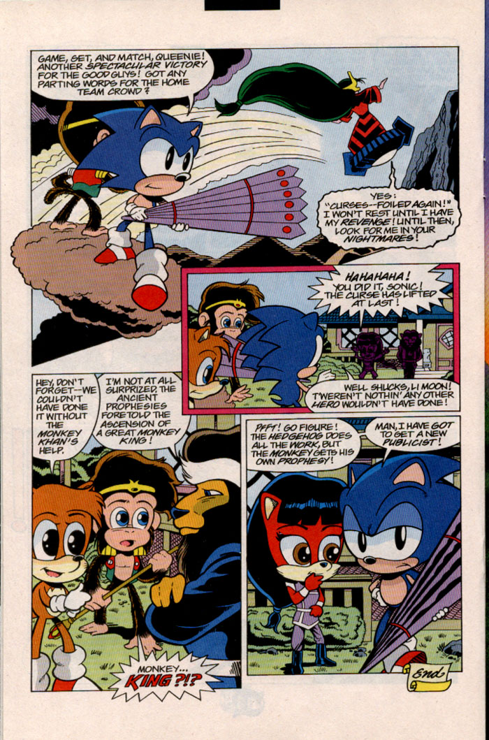 Sonic - Archie Adventure Series July 1998 Page 17