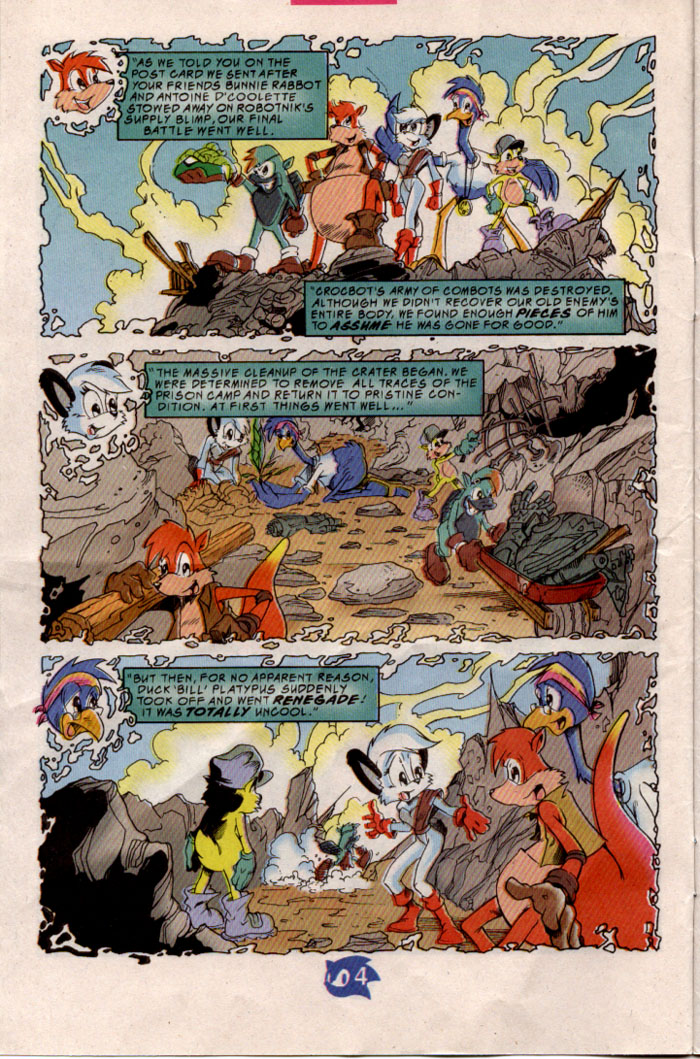 Sonic - Archie Adventure Series August 1998 Page 4