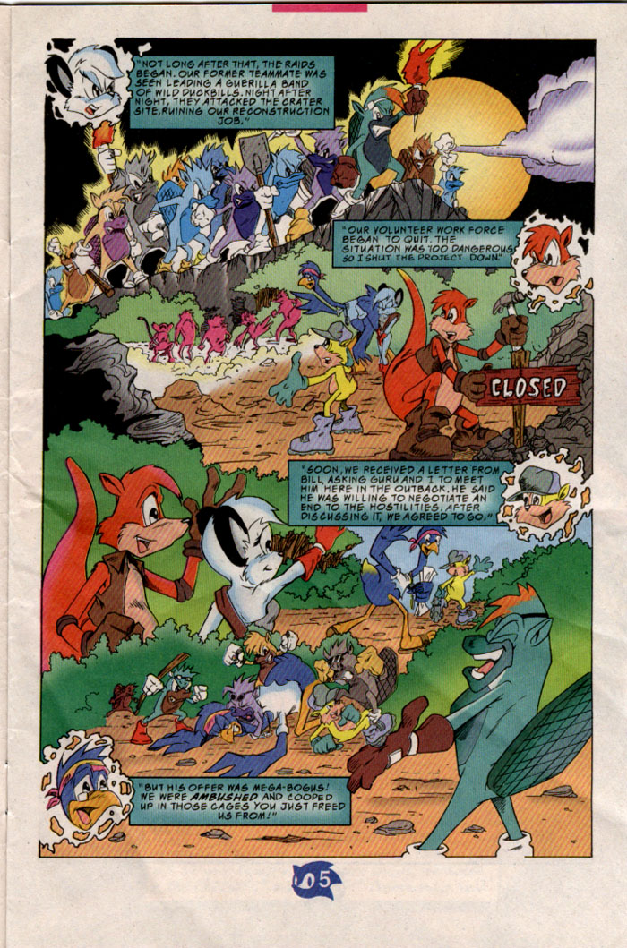 Sonic - Archie Adventure Series August 1998 Page 5