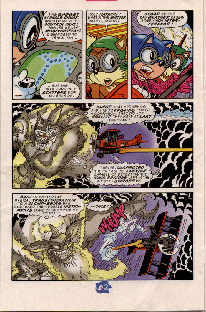 Sonic - Archie Adventure Series August 1998 Page 17