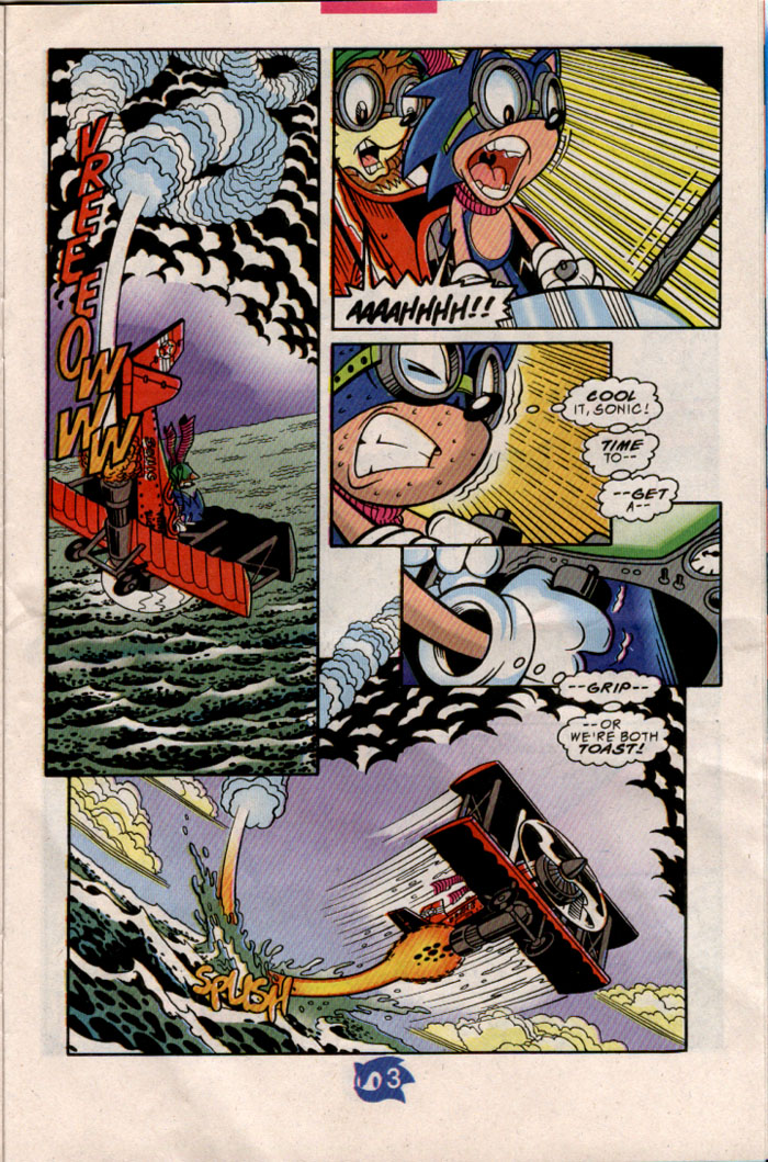Sonic - Archie Adventure Series August 1998 Page 18