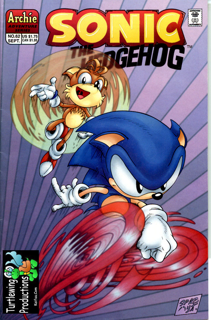 Sonic - Archie Adventure Series September 1998 Cover Page