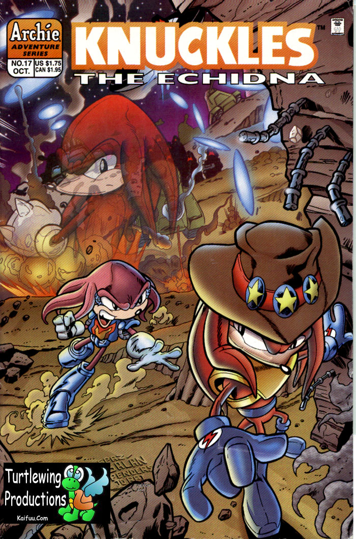 Knuckles - October 1998 Comic cover page