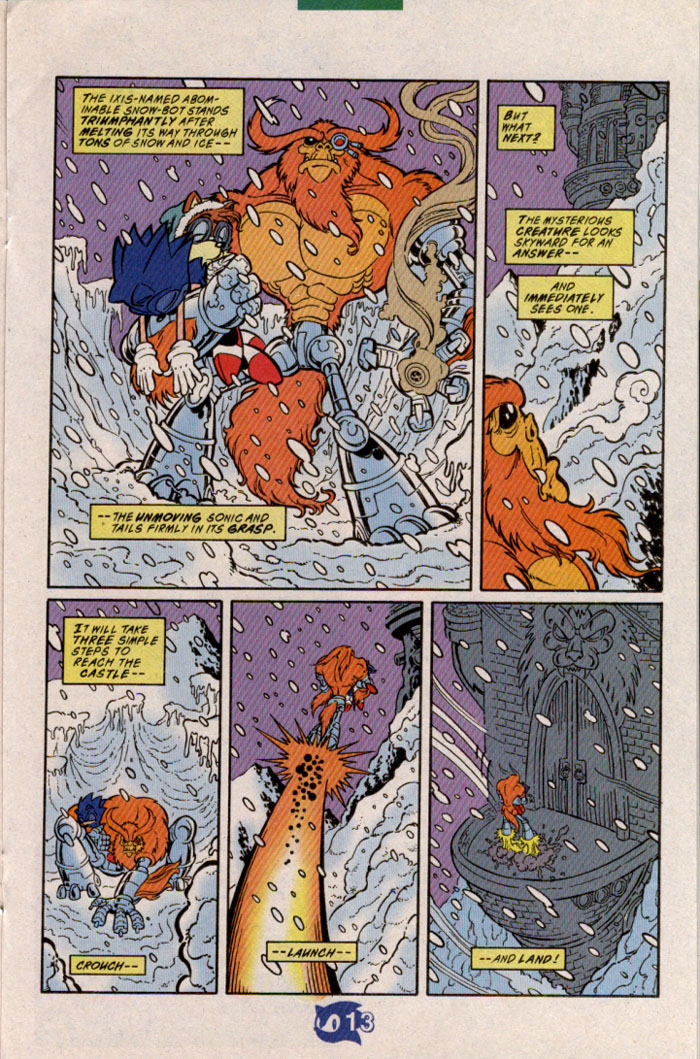 Sonic - Archie Adventure Series November 1998 Page 13
