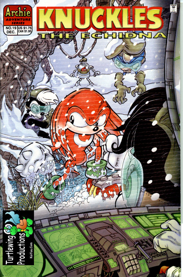 Knuckles - December 1998 Comic cover page
